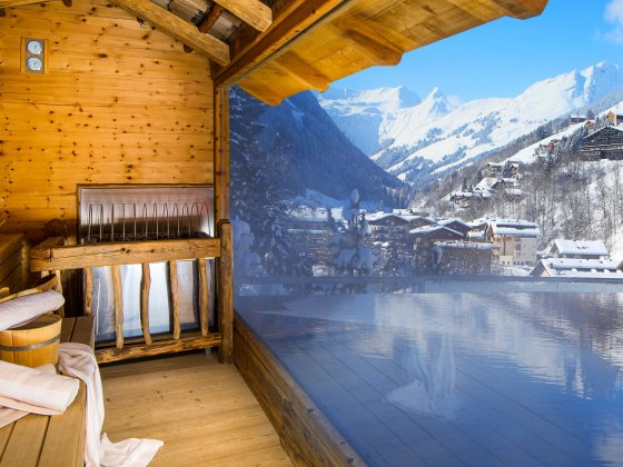 saalbach hinterglemm wellnesshotel alpin juwel sauna winter 1538971317