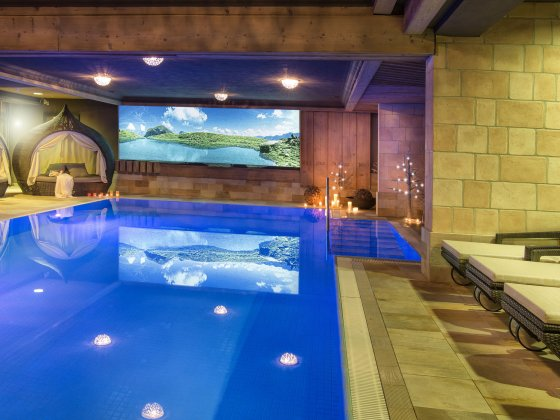 wellnesshotel saalbach hinterglemm indoor pool